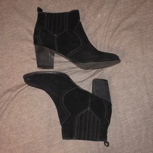 Franco Fortini Black Booties